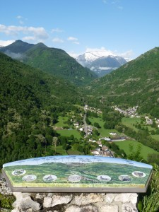 View towards Andorra