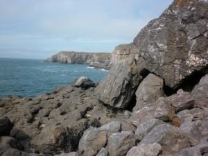 View down the Coast towards Stennis Head