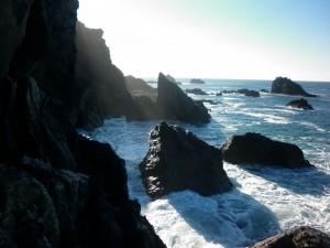 Moody Coastguard Cliff's
