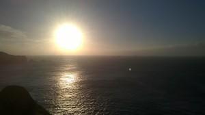 Longships in the sun