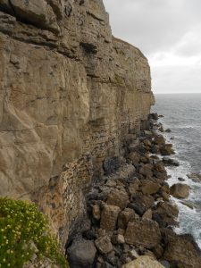 Guillemot Ledge before the rain